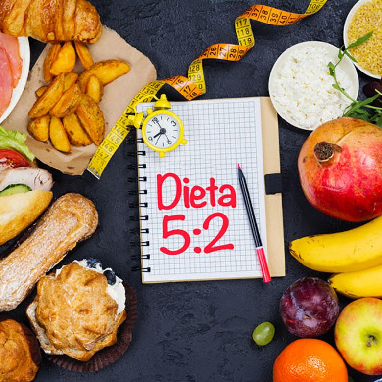 Dieta de los 2 días o Dieta 5:2