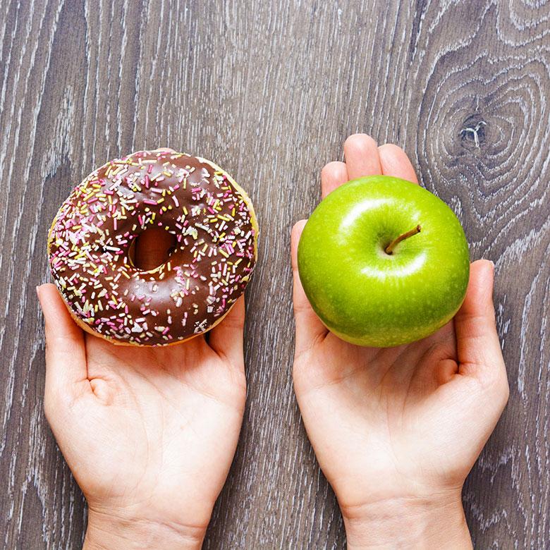 Cómo aprender a elegir platos sanos