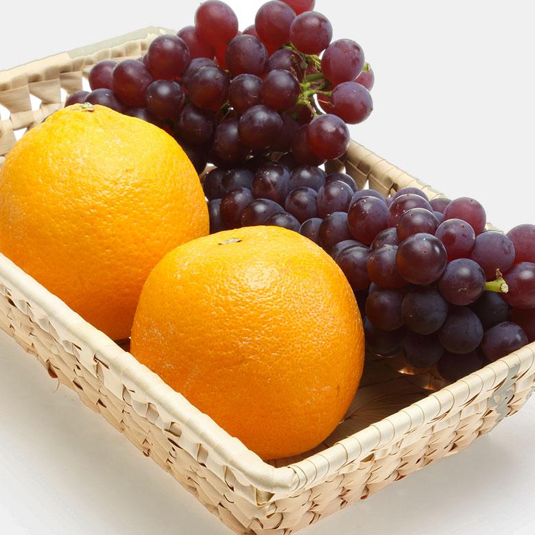 Uvas y naranjas, un extracto de frutas para adelgazar