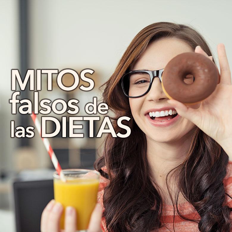 15 mitos falsos de las dietas para adelgazar
