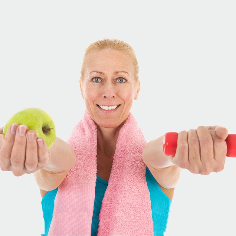 Cómo adelgazar en la menopausia